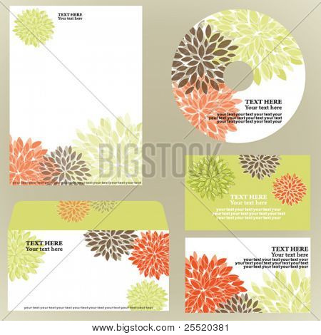 Floral business template