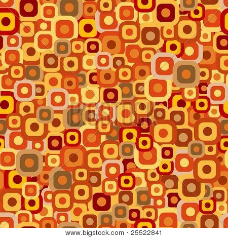 Seamless tiles background in autumn colors (raster version)