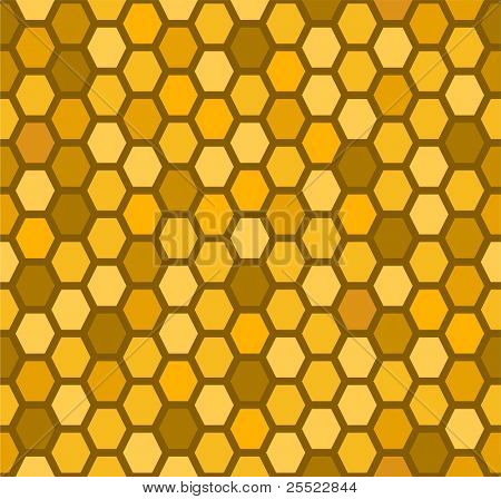 Honeycomb seamless pattern (raster version)