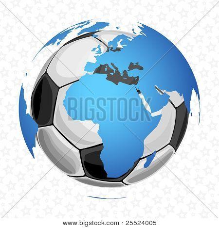 Football in the globe