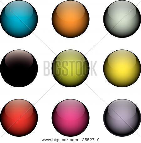 Colorful Vector Orbs.Eps