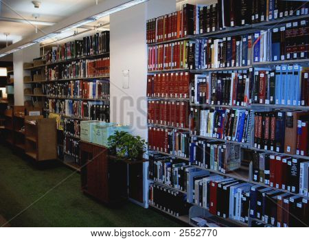 Book-Stack In Library