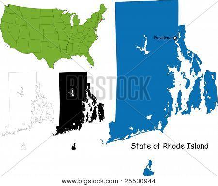 State of Rhode Island, USA