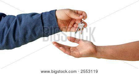 Übergabe der Schlüssel