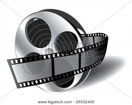 幻灯片 (电影图标) 的插图