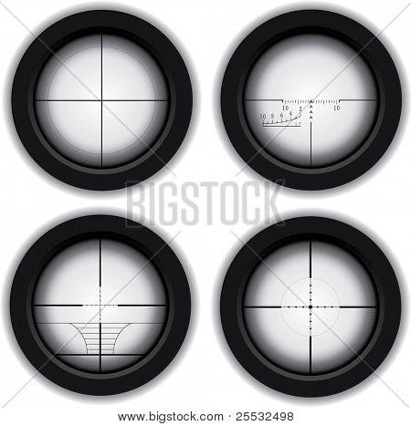 Optical sniper sight