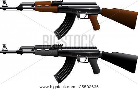 Assault rifle ak47