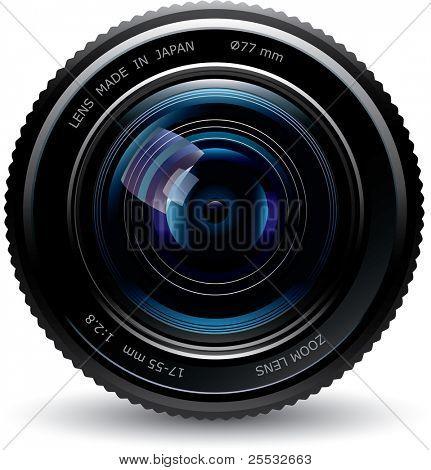 lente de foto