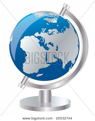 Vector of earth globe