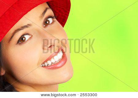 Woman Smile Face