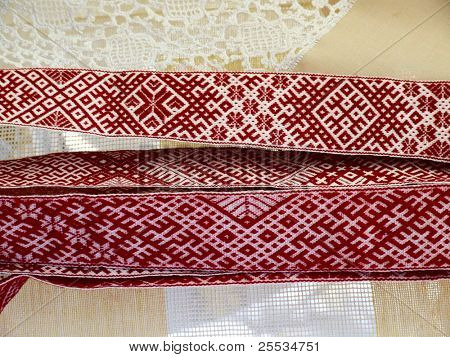 Ethnic woven belt (Country -Latvia)