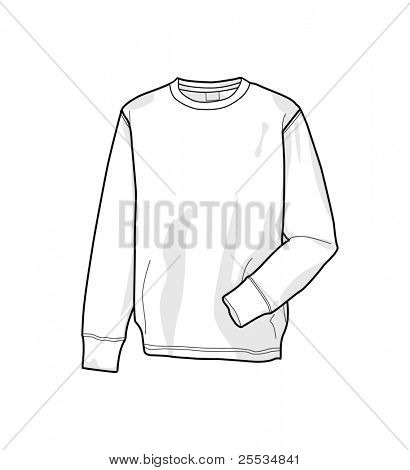 Colorable sweatshirt, front