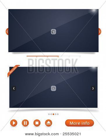 Web design frames