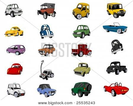 Car Icon Set