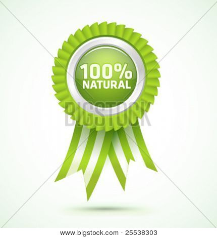 Vektor 100 % natural award