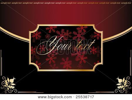Christmas vintage background6