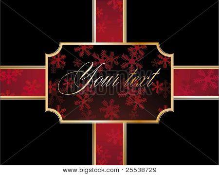 Bandera de Navidad
