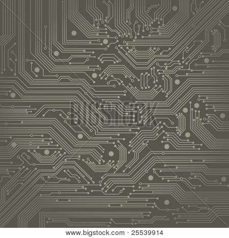 Abstract Vector Hintergrund mit High-Tech Platine