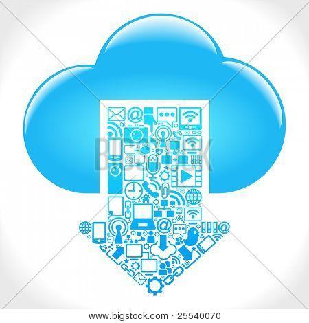 red social, la comunicación en las redes informáticas mundiales