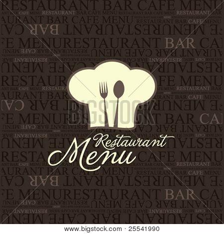 Vektor. Restaurant Menü design