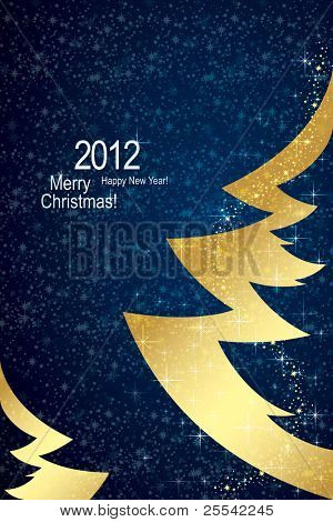 Fundo de Natal & Happy New Year