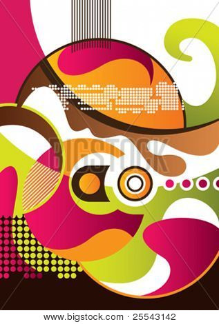 Modern abstract background. Vector illustration.