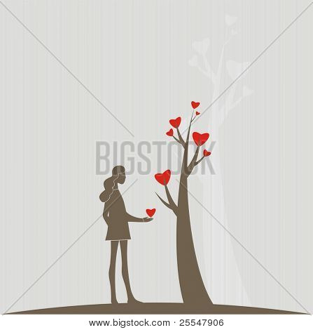 Love tree,simplicity picture