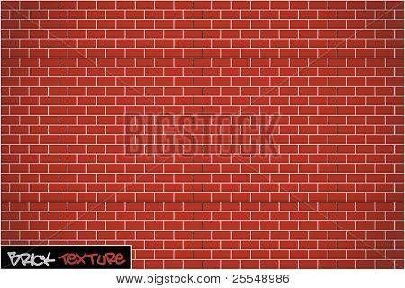 Backstein Wand Hintergrundstruktur Vektor