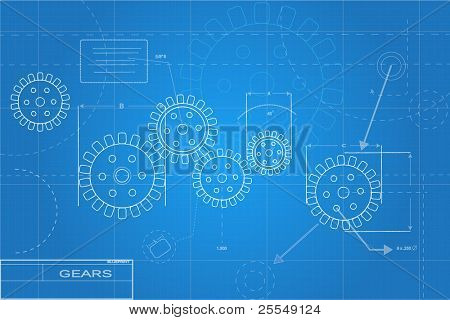 Blueprints Illustration