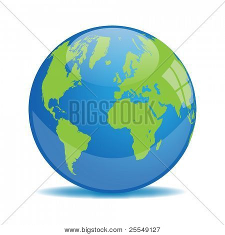 Earth Orb Vector