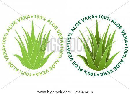 Sellos de Aloe Vera
