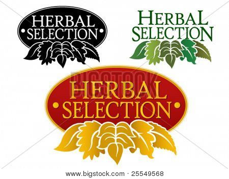 Herbal Selection Seal