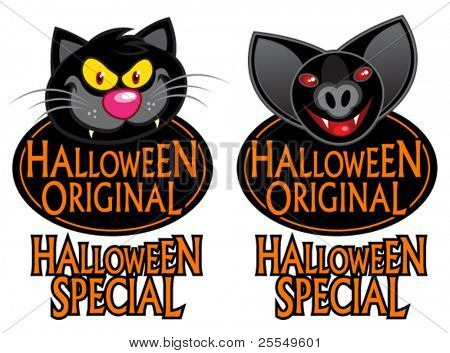 Halloween Original Special Characters Seal