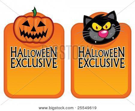 Halloween Exclusive Character Labels