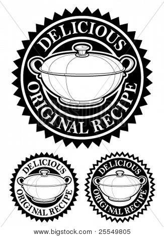 ursprünglichen Rezept Wappen