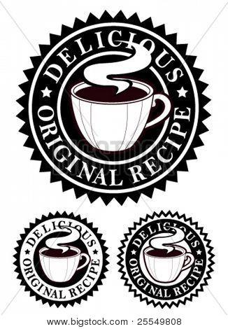 ursprünglichen Rezept Wappen / warme Getränke