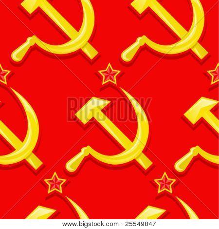 Padrão sem emenda sovietic / papel de parede