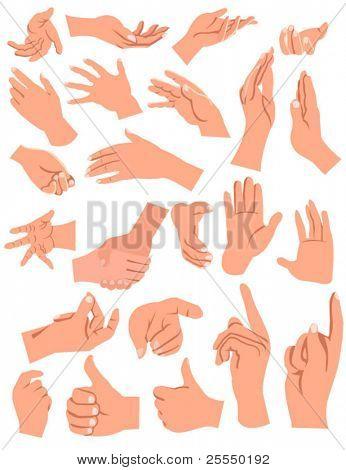 Gesten Hände