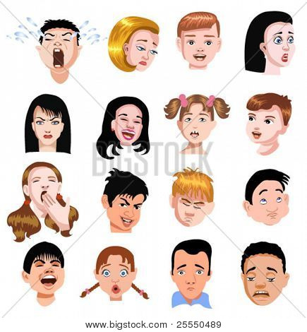 people expressions