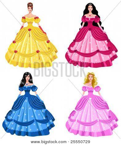 Princesas de cuento de hadas