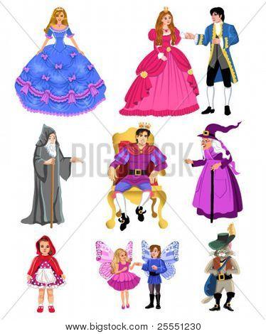 personagens de conto de fadas