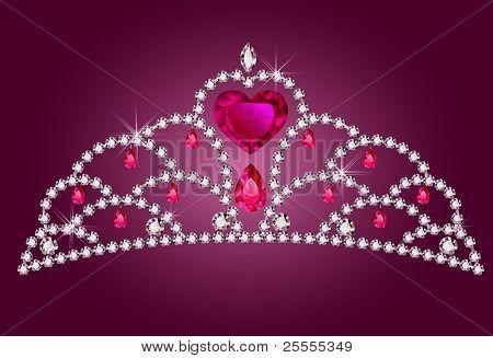 Little princess diadem