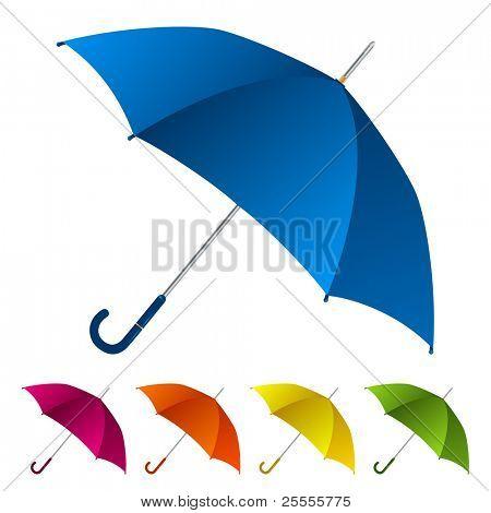 Regenschirme-Satz