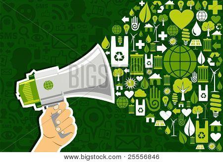 Go Green Social Media Marketing