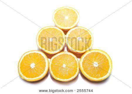 Oranges Pyramid