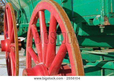 Old Wagon Side
