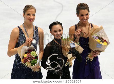 Medalists In Ladies Single Skating