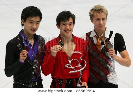Medalists In Men Single Skating