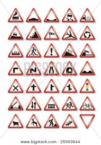 traffic signs collection