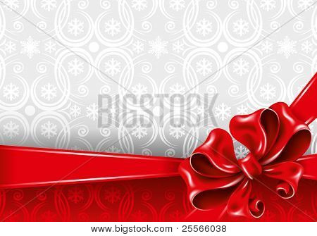 Celebrate bow background, vector illustration